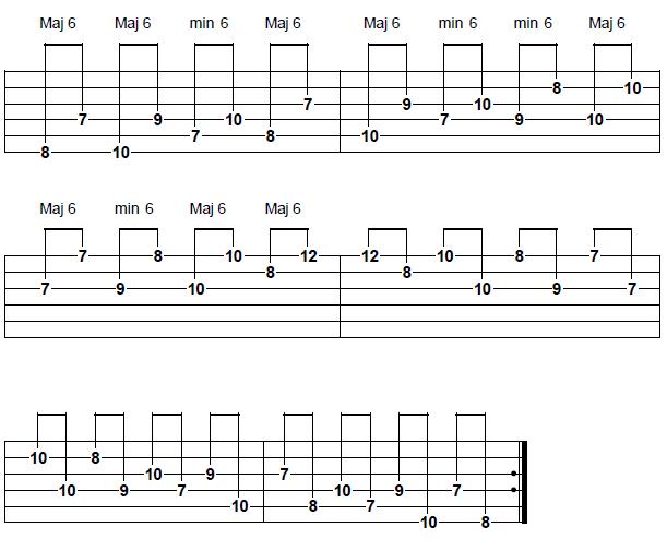 mikmakmusic intervallic sequneces sixths
